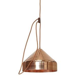Vij5 Lloop Copper Pendant Lamp, Copper