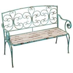 Mediterranean Outdoor Benches by Regal Art & Gift