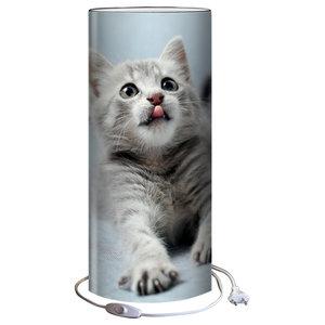 Tall Demoiselle Table Lamp, Cat
