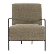 Neko Arm Chair, Stone Washed Military Green