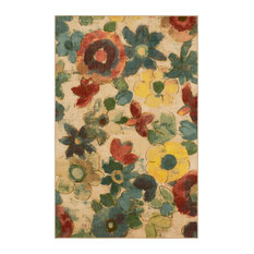 Wildflower Light Multi Rug, 2'x3'4""