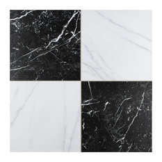 "17.88""x17.88"" Buzzini Porcelain Floor and Wall Tile, Set of 5"
