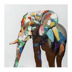 Parker, The Elephant Wall Art