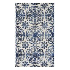 Artistic Weavers   Artistic Weavers Organic Danielle Blue, Off White 4u0027 X 6u0027