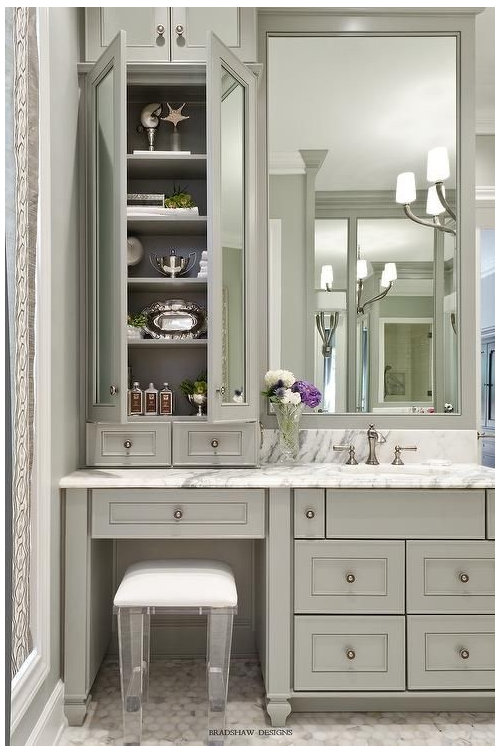 Makeup Vanity In Bathroom Or Bedroom