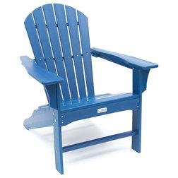 Beach Style Adirondack Chairs by LuXeo USA