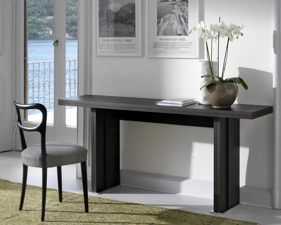 Contemporary Transformable Furniture CoffeeConsole Tables to