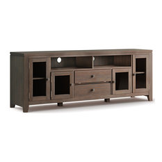 Cosmopolitan 72 Wide Tv Media Stand & For Tvs Up To 80-inches-Farmhouse Brown