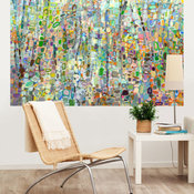 """""""Abstract Forest"""" Murals That Stick by Angelo Franco"""