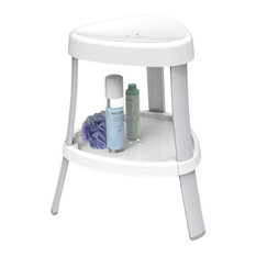 better living products spa shower seat with shelf shower benches u0026 seats