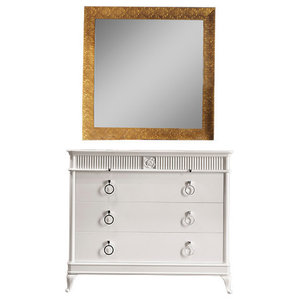 Chest With 5 Drawers, White