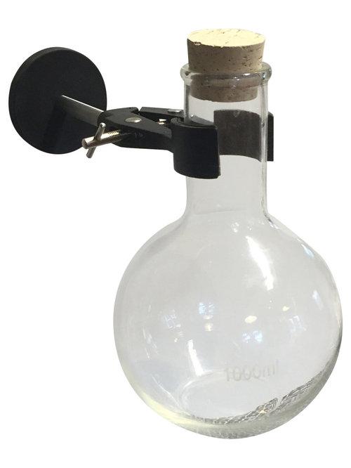 KEMIKAZE - Kemikaze Gauss Wall Mounted Round Flask - Vægkunst i metal