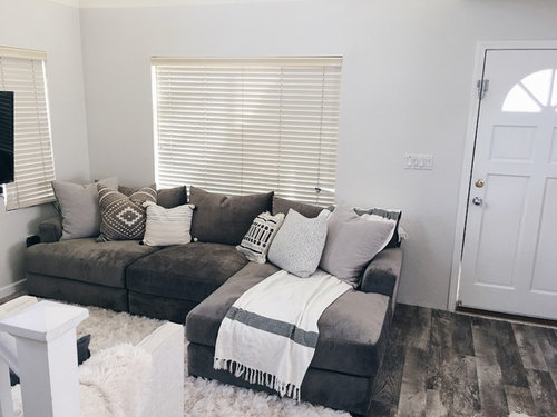 Stupendous Help What Do You Think Of This Room Is My Sofa Too Big Squirreltailoven Fun Painted Chair Ideas Images Squirreltailovenorg