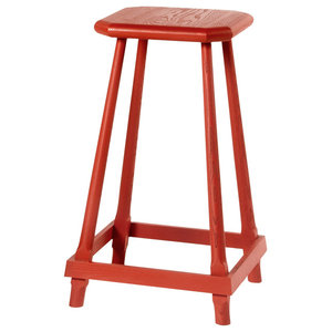 Gustave Stool, Red