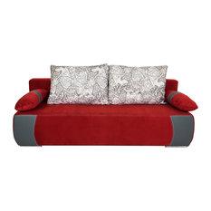 Enjoy Sleeper Sofa, Red