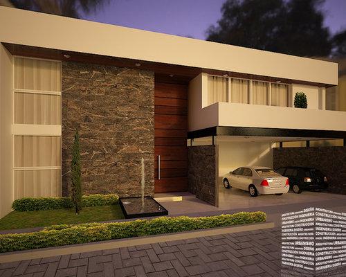 casa con puerta de madera a doble altura On altura puertas casa