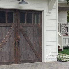 Barn Wood Garage Doors In Marin County