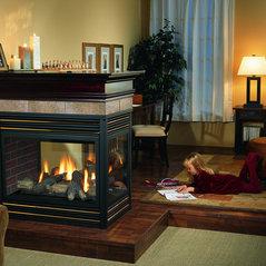 Rustic Brick And Fireplace Sacramento Ca Us 95826