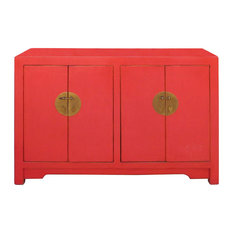 Asian Red Console Tables Houzz