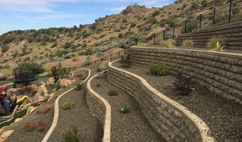 Boise Foothills Retaining Wall