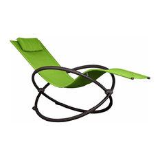 Orbital Lounger, Single, Green Apple