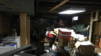 Basement clean out. Fire Hazard