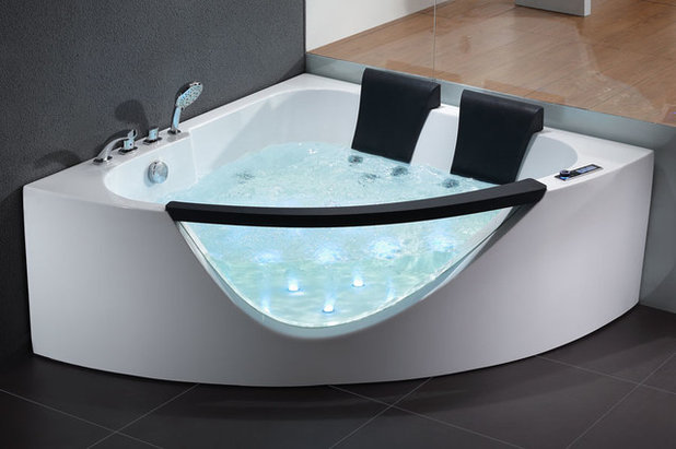 Contemporary Bathtubs by Bathroom Trends. Dreaming of a Spa Tub at Home  Read This Pro Advice First