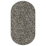 Koeckritz Rugs - Soft Charm SoSoft Twist Indoor Area Rug, Galexy Oval 8'x11' - Soft Charm SoSoft Twist Speckled Multi in 6 Colors
