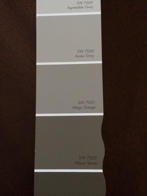 Please Help With These Paint Colors