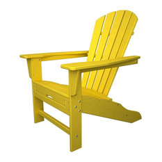 Ultimate Adirondack Chair with Ottoman in Lemon