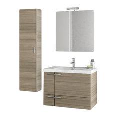 """31"""" Larch Canapa Bathroom Vanity Set"""