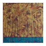 Peinture à l'Huile Golden 03  - Claire Moog