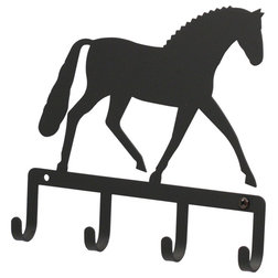Contemporary Wall Hooks by Village Wrought Iron, Inc.