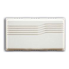 HeathCo LLC   Heath Zenith Sl 2796 03 Door Chime, White   Doorbells
