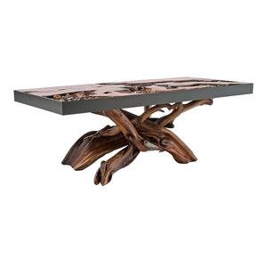 A River Runs Through It Unique Coffee Table Rustic