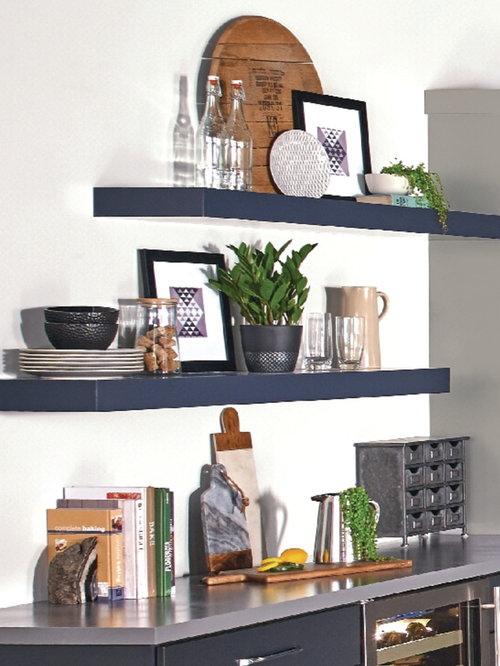 The Masterpiece® Collection - Floating Shelves - Kitchen Cabinetry