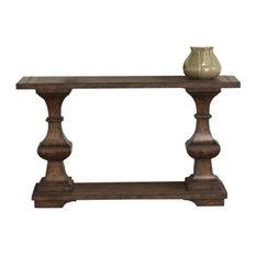 Liberty Furniture Sedona Sofa Table in Kona Brown Finish