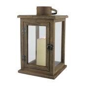 Rustic Wood Lantern, Large