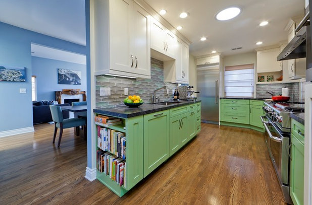 kitchen design sink. by Kitcheneering Kitchen Design Secret  Why You May Want a Separate Cleanup Sink