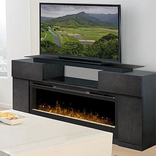 Electric Fireplace Tv Amp Media Consoles