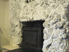 As The Owner Of A White Lava Rock Fireplace Dont Paint It Looks Horrible