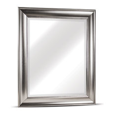 Clarence Medium Silver Wall Vanity Mirror