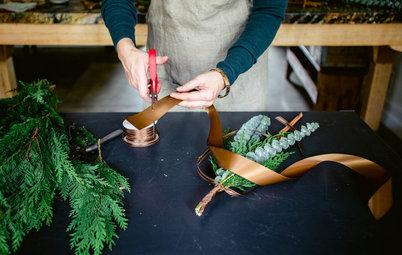 Make a Natural, Aromatic Holiday Swag