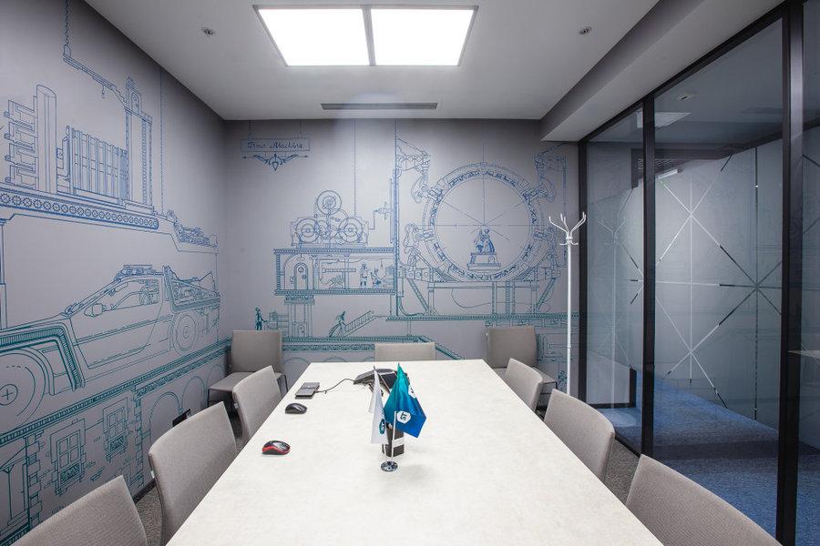 Офисное пространство частной компании