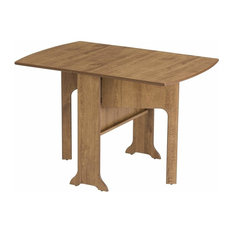 Traditional Stylish Folding Table, Solid Oak Wood, Perfect for Space Saving