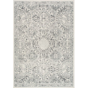 nuLOOM Vintage Minta Transitional Area Rug, Gray, 9'x12'