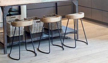 Weathered and Reclaimed Bar Stools With Free Shipping