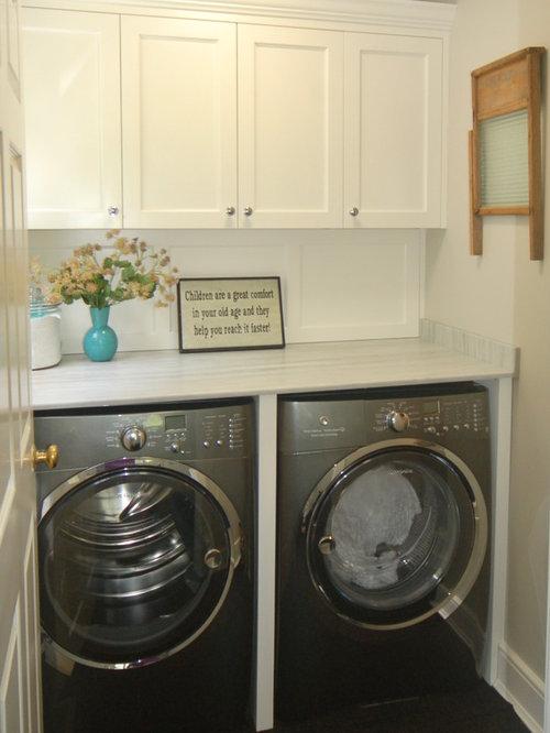 waschk che mit teppichboden ideen design bilder houzz. Black Bedroom Furniture Sets. Home Design Ideas