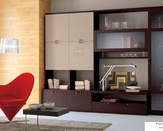 Contemporary Wall Unit modern wall units