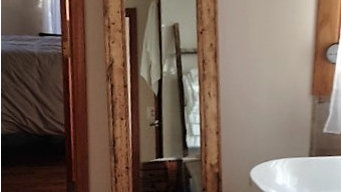Herringbone Floor Mirror